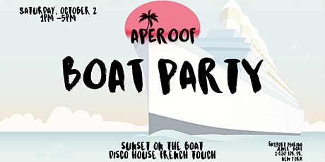 APEROOF ON THE BOAT tickets