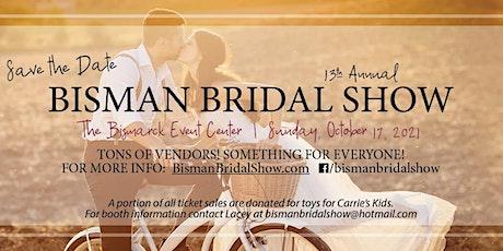 2021 Bisman Bridal Show Tickets tickets