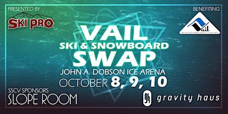 Vail Ski & Snowboard Swap.  Skis, Snowboards, Winter Clothing Sale 2021. tickets