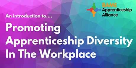 An introduction to...Promoting Apprenticeship Diversity In The Workplace tickets