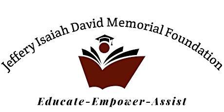 Jeffery Isaiah David Memorial Foundation Dinner tickets