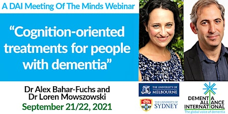 Cognition-oriented treatments for people with dementia tickets