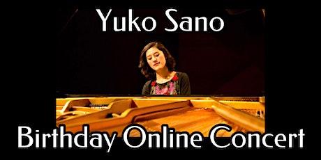 Yuko Sano: Birthday Online Concert (31 Oct) tickets