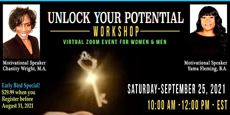 Unlock Your Potential (2 Hours Virtual Workshop) tickets
