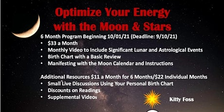 Optimize your Energy with the Moon & Stars tickets