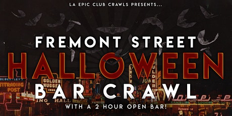 2021 Fremont Street Las Vegas Halloween Bar Crawl w/ OPEN BAR tickets