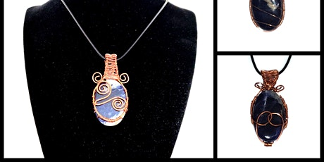 Wire Wrapping Class – Session 5/5 Wrapping undrilled stones – Tree of Life tickets