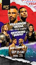 UFC 266 BIACHOWICZ vs. ORTEGA tickets