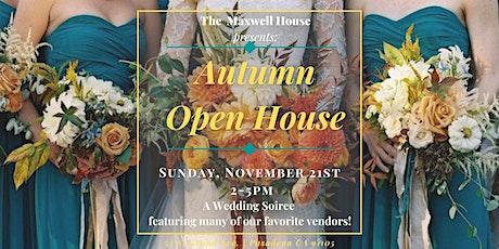 Maxwell House Autumn Open House tickets