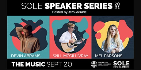 THE MUSIC - SOLE Speaker Series tickets