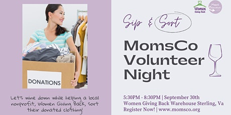 Sip & Sort for a Cause tickets