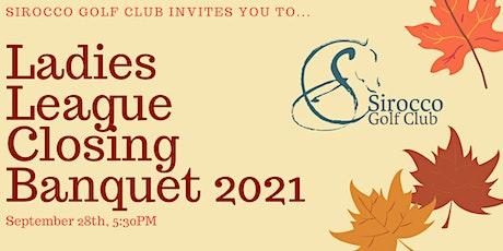 Ladies League Banquet 2021 tickets