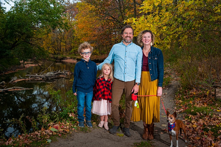 """Fall Mini Session - Thaddeus S. """"Ted"""" Lechowicz Woods - 10/1 image"""