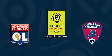 (Gratuit)...Lyon - Clermont e.n direct Live tv 2021 billets