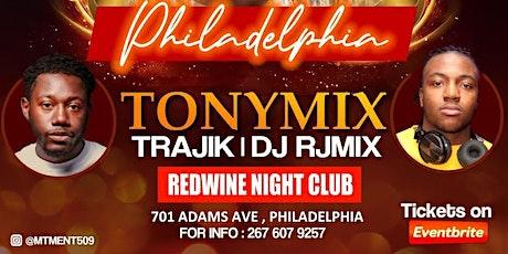 Tonymix in Philadelphia tickets