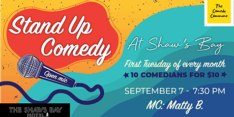 Stand Up At The Shawsy tickets