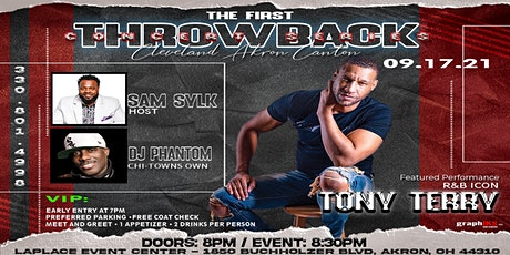 Tony Terry - Throwback Concert Series tickets