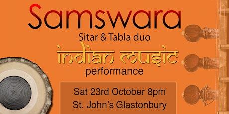 Samswara ~ Sitar & Tabla duo: music from India tickets
