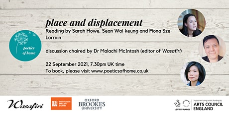 Poetics of Home: Place & Displacement tickets