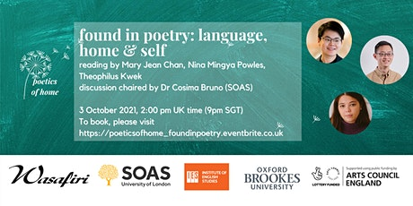 Poetics of Home: Found in Poetry - Language, Home & Self tickets