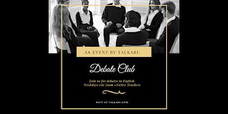 Debate Club | English Fluency Class tickets