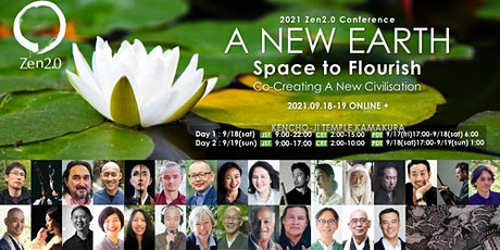 Zen 2.0 2021 | Zen & Mindfulness Conference  - A NEW EARTH - tickets