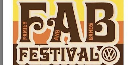 VW FAB Festival 2022! tickets