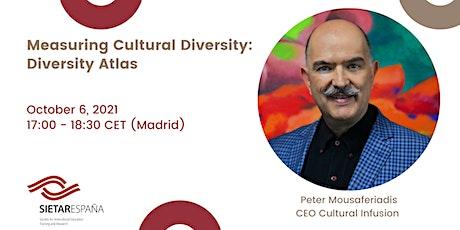Webinar para promover la formación intercultural: Peter Mousaferiadis tickets