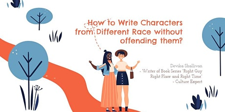 How to Write Culturally Diverse Characters? tickets