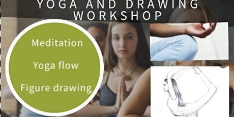 Get creative and flow ;Yoga ,meditation and mindful figure drawing tickets
