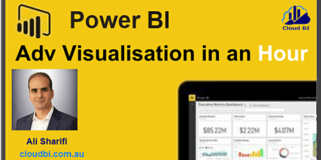 Power BI Advanced Visualisation in AN Hour tickets