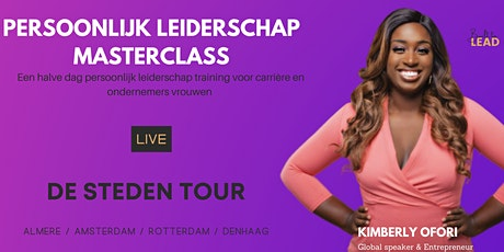 Rotterdam - Masterclass Persoonlijk leiderschap tickets