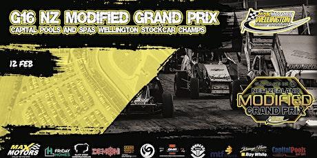 Garage 16 NZ Modified Grand Prix & Stockcar Champs tickets