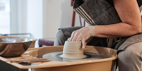 Pottery Workshop - Wheel-throwing class (3 sessions) tickets