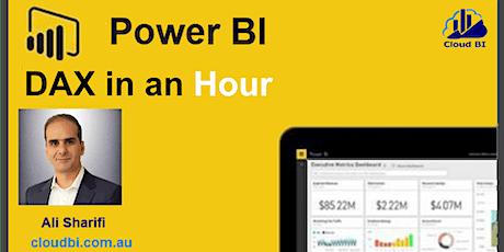Power BI DAX  in AN Hour billets