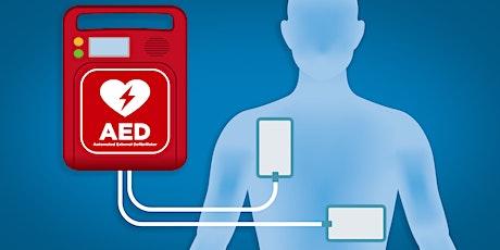 Defibrillator Training Session tickets
