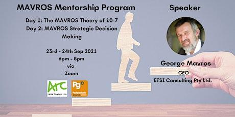 MAVROS Mentorship Program tickets
