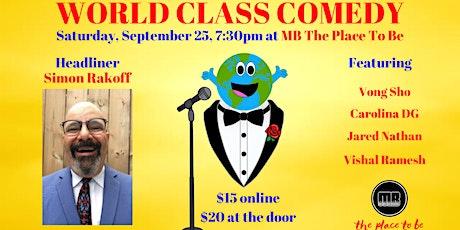 World Class Comedy tickets