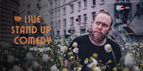 Budapest English Comedy Night tickets