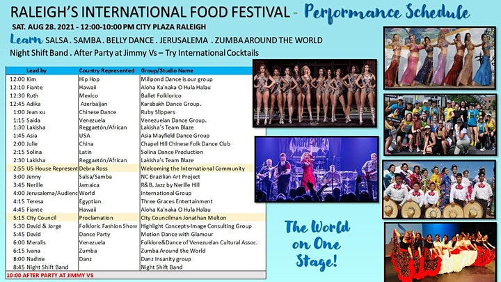 Raleigh's International Food Festival image