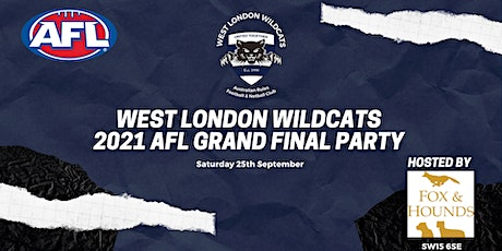 West London Wildcats 2021 AFL Grand Final Party tickets