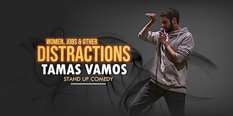 English Stand up Comedy Night featuring Tamas Vamos tickets