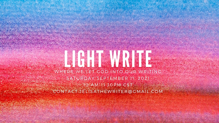 Light Write: A Faith-based Writing Space image