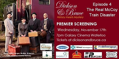 DICKSON & BRUCE Episode 4 PREMIER AT THE GALAXY tickets