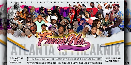 2nd Annual FreakNik Festival 2021 HBCU Homecoming Edition tickets