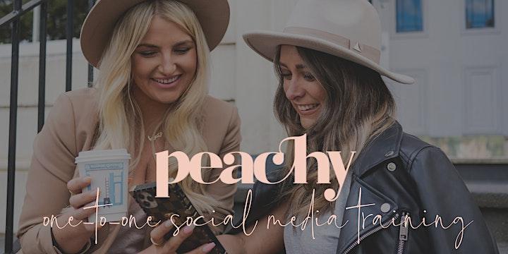 Peachy Social Media Training  Session | Glasgow image