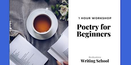 Poetry for Beginners – Online Workshop tickets