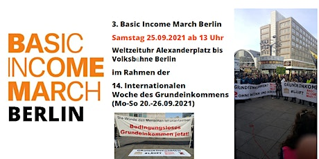 3. Basic Income March Berlin tickets