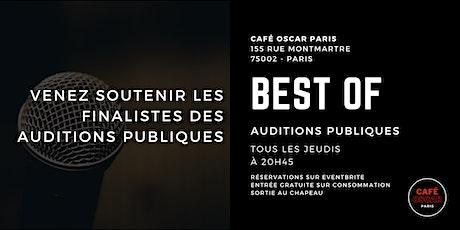 Standup : best of auditions publiques billets