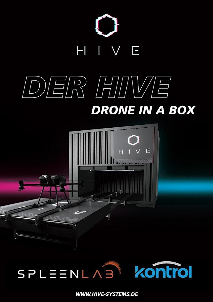"""Airbus Drone Center Manching - Vorführung des  Flugdrohnensystems """"HIVE"""": Bild"""